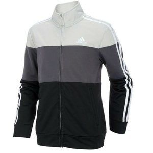 Adidas Boys Colorblock Tricot Track Jacket 14/16